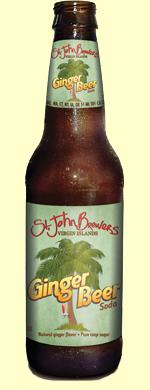 St. John's Brewers Ginger Beer