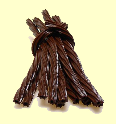 Chocolate Licorice Twist