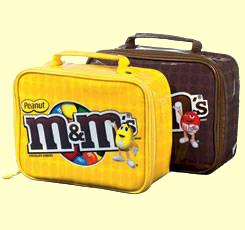 M&M Plush Lunchboxes