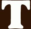 Candy Alphabet T