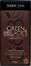 Green & Black's Dark