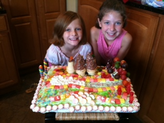 Homemade Candy Land