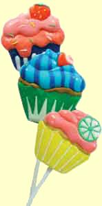 Cupcake Lollis