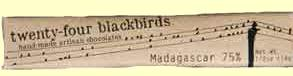 twenty-four blackbirds Madagascar .5 ounce Bar