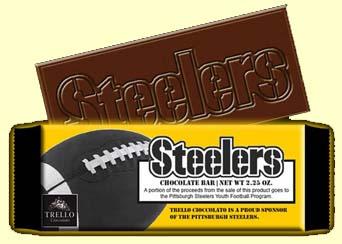 Steeler Chocolate Bar