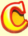 Candy Alphabet 'C'