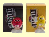 M&M Salt and Pepper Shakers