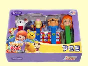 Winnie the Pooh Pez Set