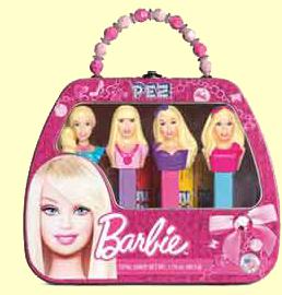 Barbie Pez Gift Set