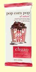 Chuao Pop Corn Pop Bar