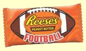 Reese's Peanut Butter Football