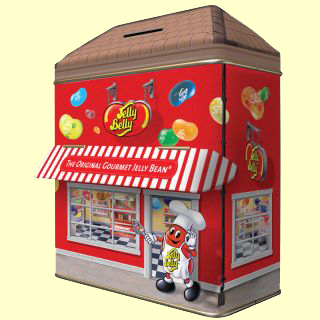 Jelly Belly Candy Shoppe Tin