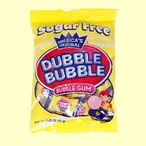 Sugar Free Dubble Bubble