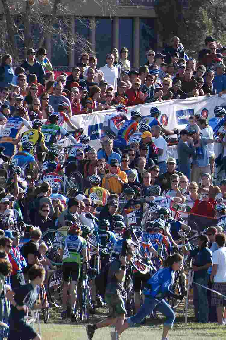 The Crowds at the Boulder Cup