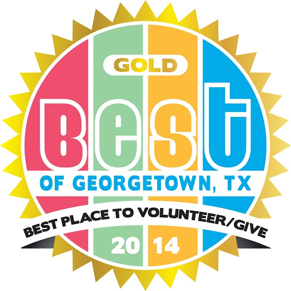 The Caring Place 2014 Best Place to Give and Volunteer