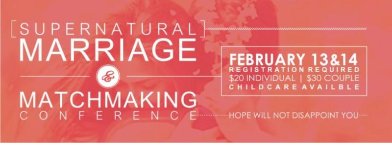 Supernatural marriage and matchmaking conference