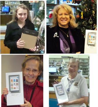 Winners of eReaders