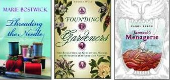 Covers of selected titles