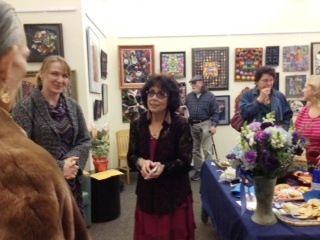 Candy Cummings opening reception