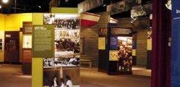 Inside view of Reginald F. Lewis Museum