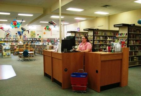 information desk at Leonardtown