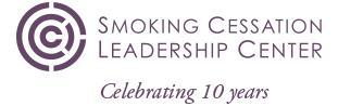 SCLC 10th logo