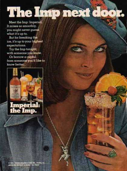 Imperial Whiskey 1970