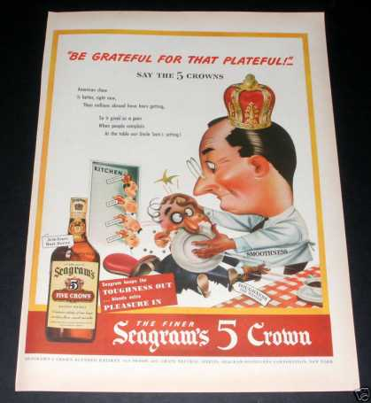 Seagrams 1940