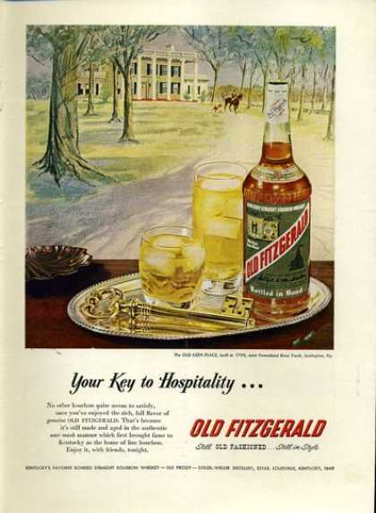 Old Fitzgerald 1950