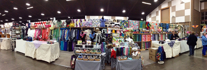 2013 Sewing Expo booth