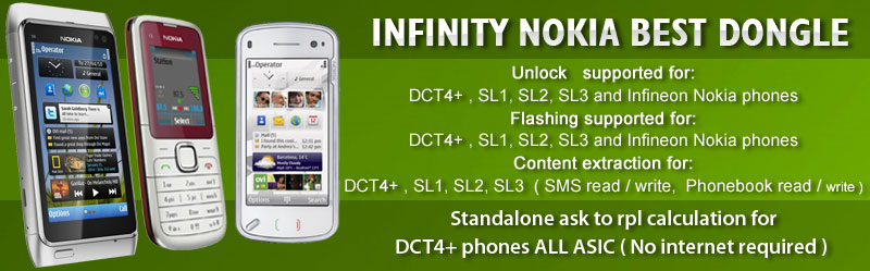 Infinity Nokia BEST Dongle