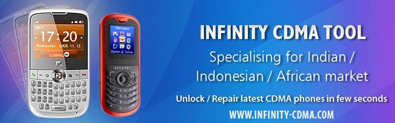 Infinity CDMA tool