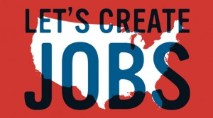 Let's Create Jobs Graphic