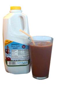 Hansen's chocolate milk