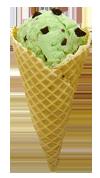Mint cone