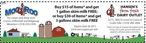 June 2011 coupon