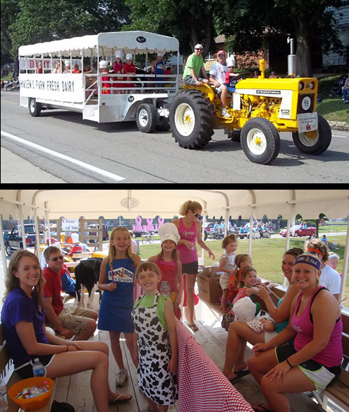 Hudson Days parade