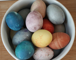 Natual Dyed Eggs