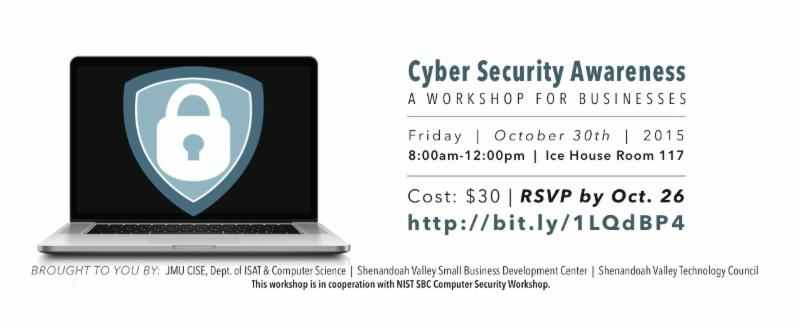 CyberSecurity Workshop Oct 30