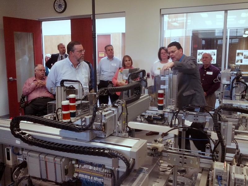 BRCC Tour Dr. Downey Demo to Group