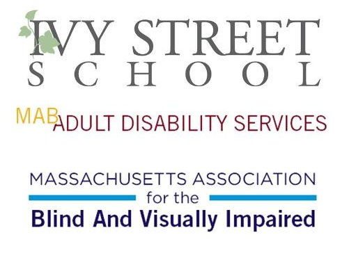 MAB program logos for Ivy Street School_ Adult Disability Services_ and MABVI