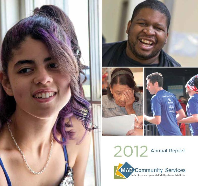 MAB Community Services 2012 Annual Report