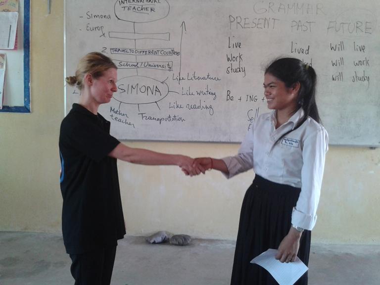 Simona in Class