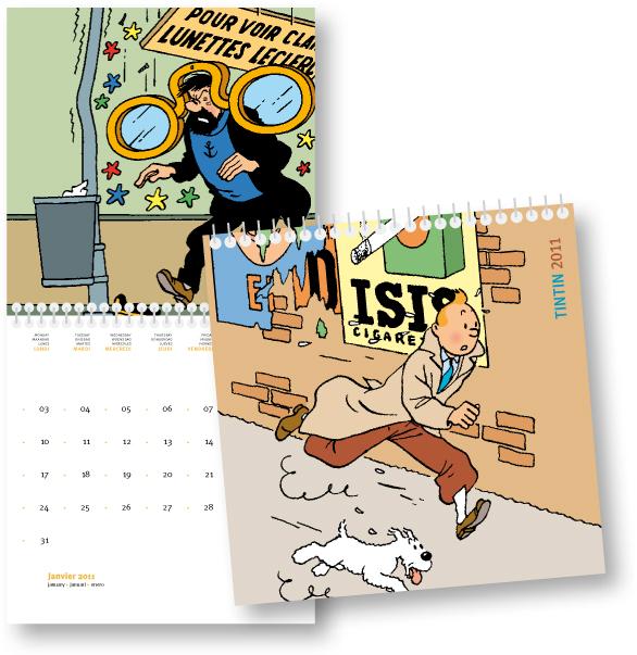 Tintin Calendar