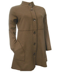 Basic Threads High cCllar Coat