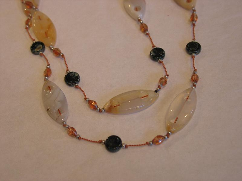 P.S. NW Necklace w/ carved agate
