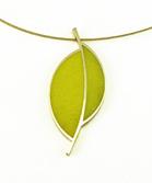 Stubborn Leaf Necklace