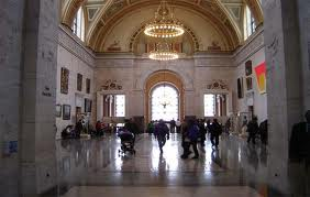Entry of Detroit Institute of Arts