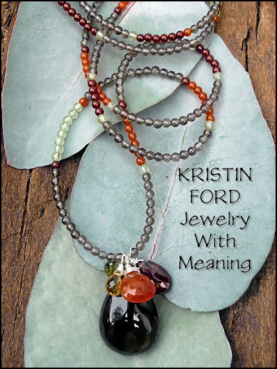 kristin ford Necklace with Carnelian