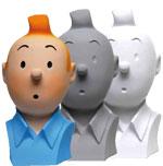 Tintin busts